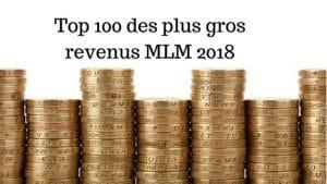 gros revenus MLM 2018